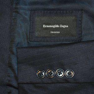 $1995 48R Ermenegildo Zegna CURRENT Navy suit